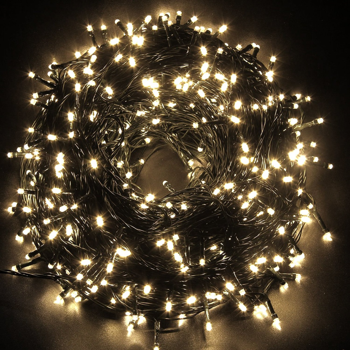 safe low voltage warm white christmas fairy lights 30m 10m. Black Bedroom Furniture Sets. Home Design Ideas