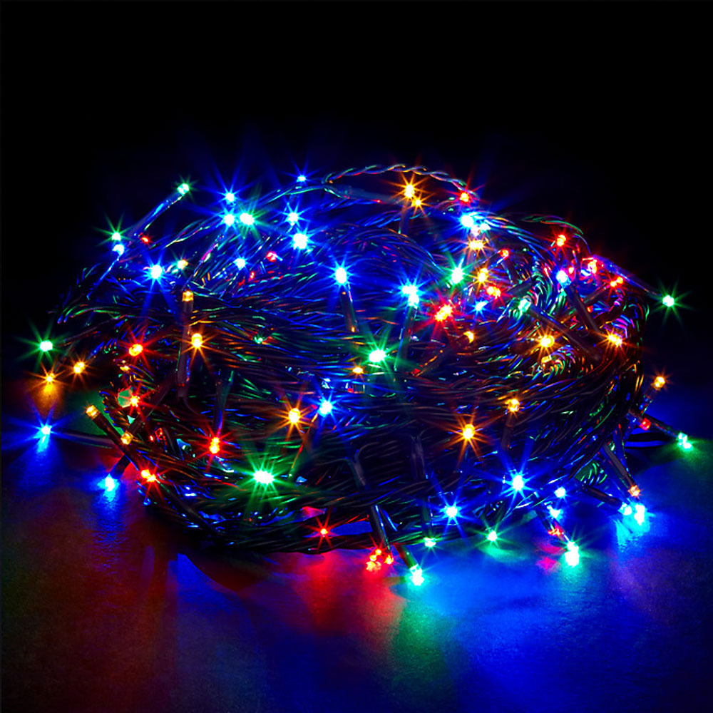 Outside Christmas Lights John Lewis: Waterproof SAFE Low Voltage Multi Colour Christmas Fairy