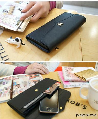 designer money clip and card holder  clutch coins card