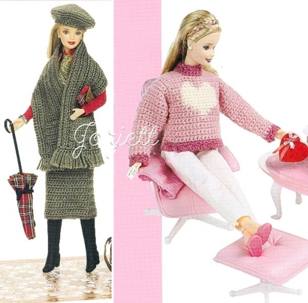 Crochet Barbie Doll Patterns Crochet Patterns