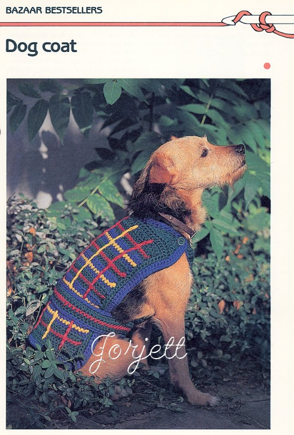 Dog Sweater Crochet Pattern | Red Heart - Red Heart Yarn | Yarn
