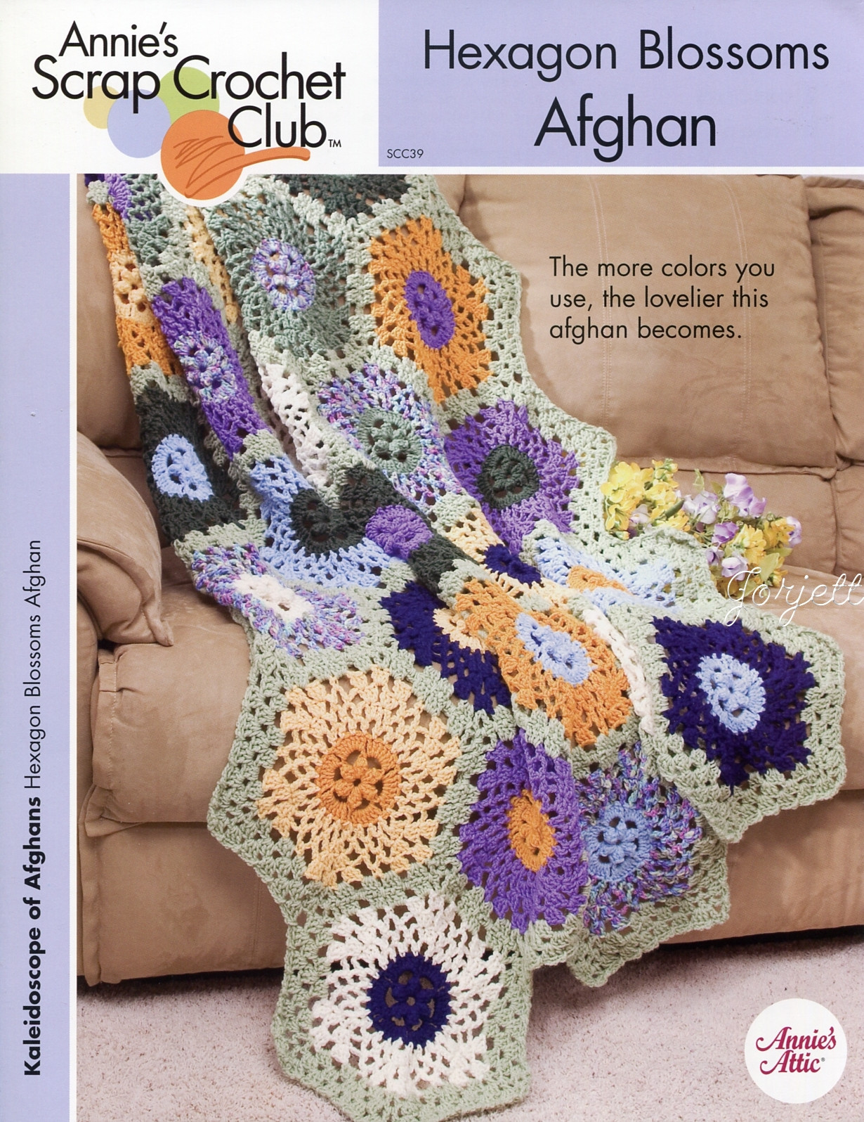 AFGHAN CROCHET HEXAGON PATTERN FREE PATTERNS