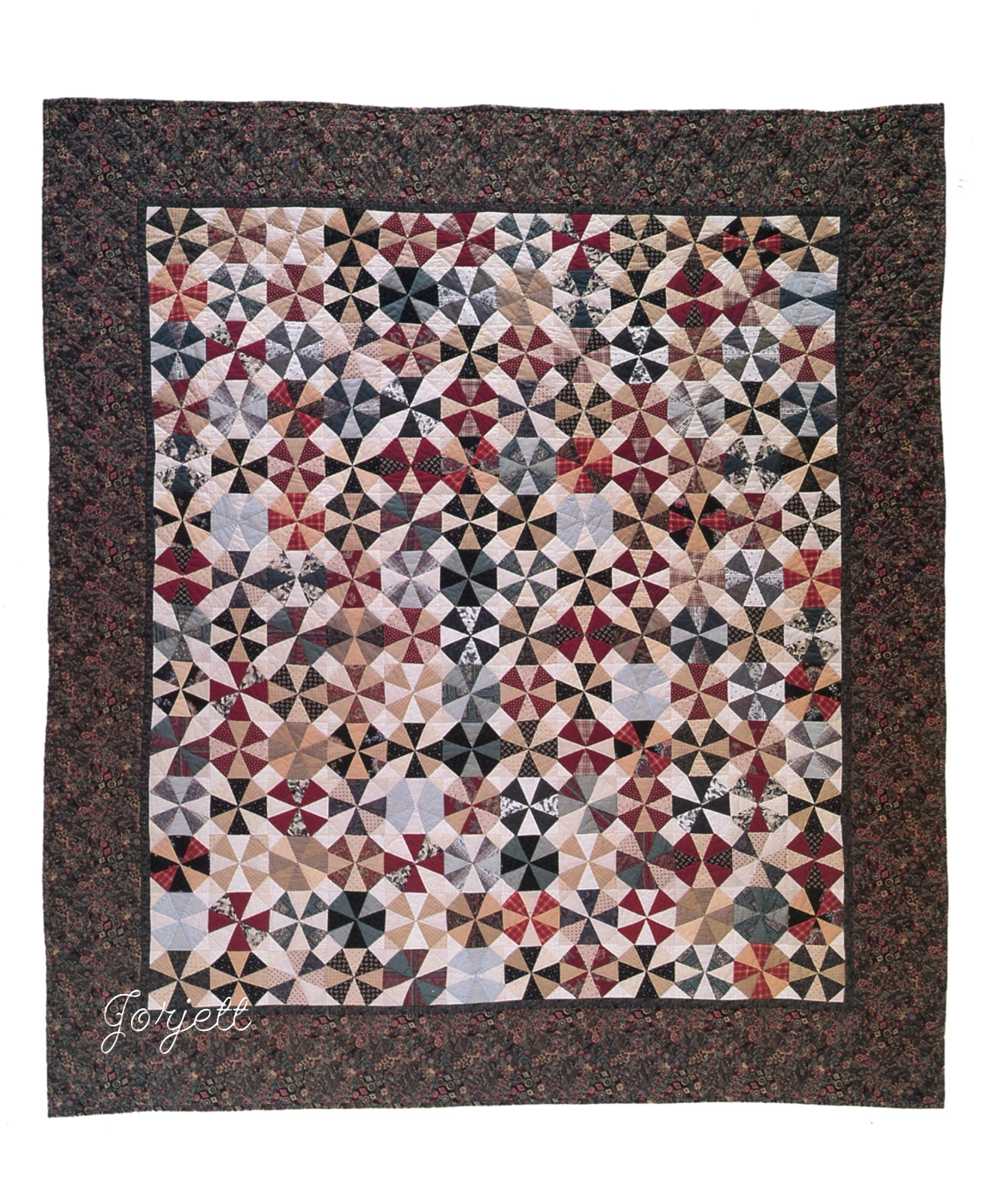 kaleidoscope quilt pattern instructions