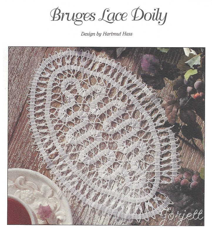 Bruges Lace Doily & Bookmark crochet patterns eBay