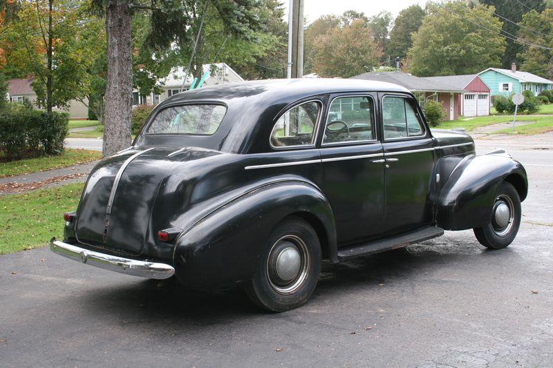 1940 pontiac silver streak 4 door sedan for restoration for 1940 pontiac 2 door sedan