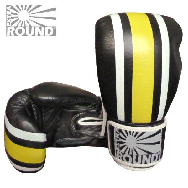 gants boxe muay thai kick boxing extra round en cuir. Black Bedroom Furniture Sets. Home Design Ideas