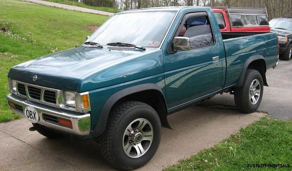 87 97 nissan d21 hardbody v6 powertrax lock right 3220 ebay. Black Bedroom Furniture Sets. Home Design Ideas