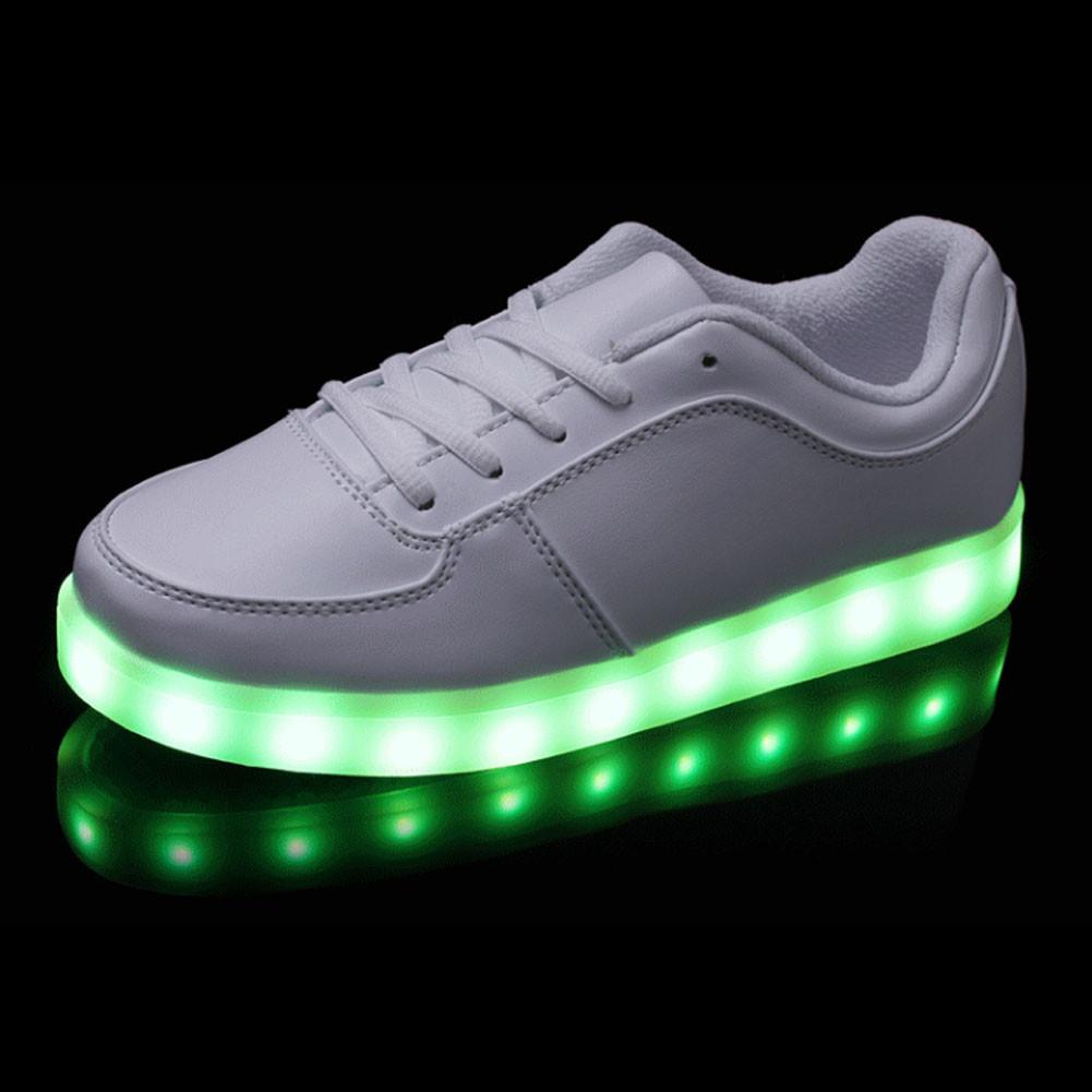 mens womens led light up shoes 7 colors sport sneakers athletic luminous shoes ebay. Black Bedroom Furniture Sets. Home Design Ideas