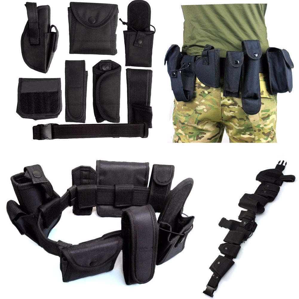 police officer security guard law enforcement equipment duty belt police officer security guard law enforcement equipment duty belt rig gear nylon