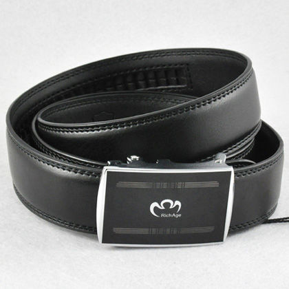 COOL-Designer-Work-Mens-Auto-Lock-Buckle-Genuine-Leather-Belt-Waist-30-32-34-46