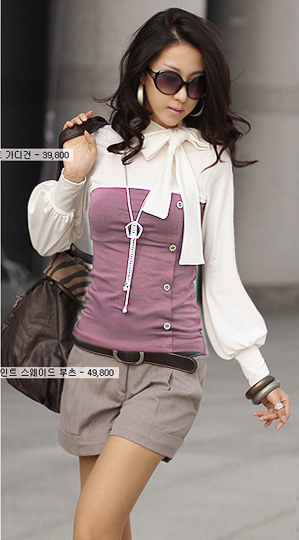Fashion-Lady-Women-Long-Sleeve-Turtleneck-Bowknot-Tops-T-shirt-Pullover-UK-4-6-8