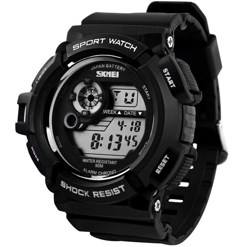 men fashion led digital alarm date rubber army watch waterproof categories men s watches