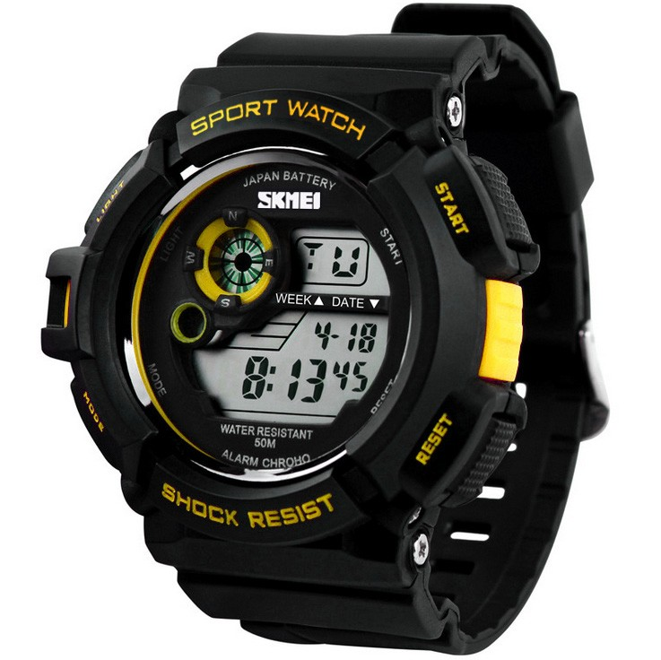men fashion led digital alarm date rubber army watch waterproof categories men s watches