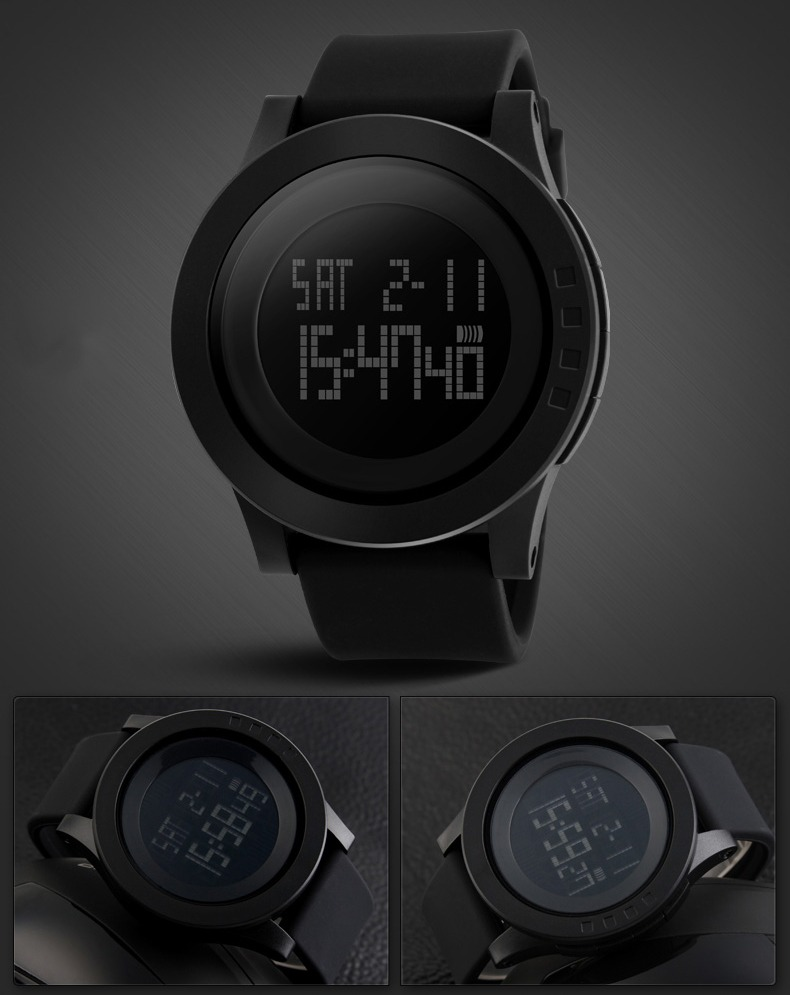 fashion black mens rubber band digital army military quartz sport fashion black mens rubber band digital army military quartz sport wrist watch
