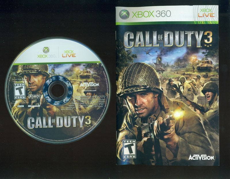 A Rated Games For Xbox 360 : Xbox call of duty rated t complete genre shooter