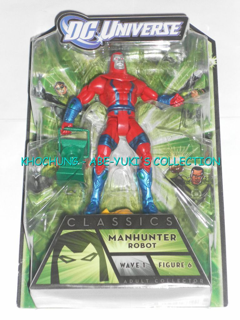 DC-UNIVERSE-CLASSICS-GREEN-LANTERN-WAVE-1-MANHUNTER-ROBOT-6-FIGURE-6-NEW