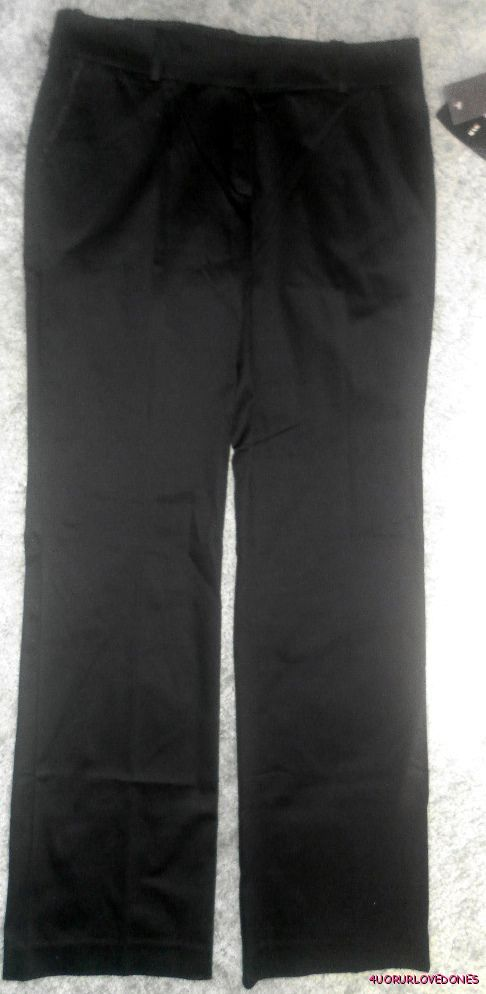 MNG-MANGO-BLACK-PANTS-SATEN-S-14-UK-10-US-NWT-AU-119