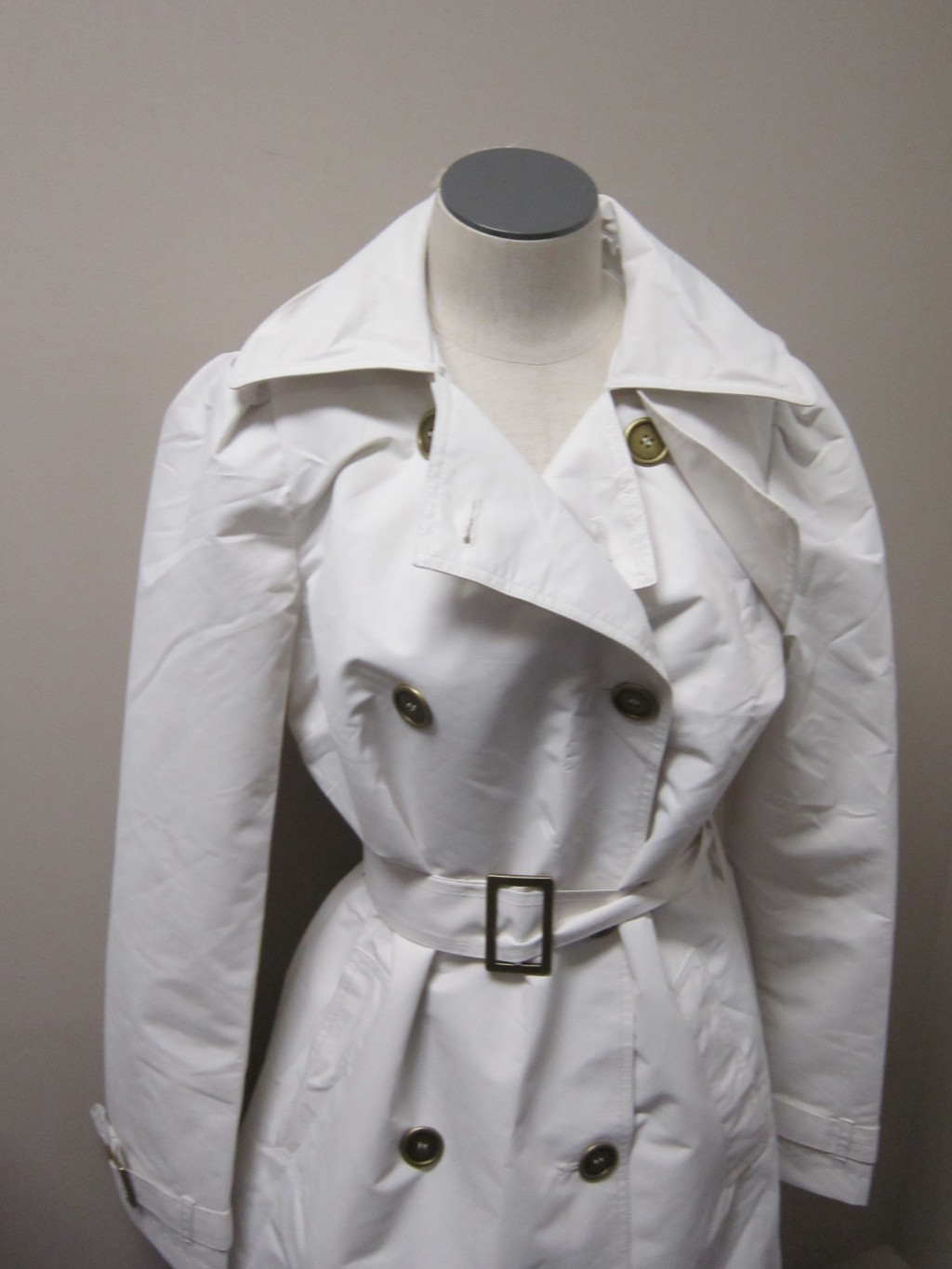 Luxe-Rachel-Zoe-Water-Resistant-Trench-Coat-with-Hood-IVORY-NWOT-150