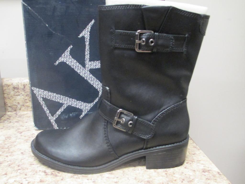 Anne Klein Laski Boots Black New with Box