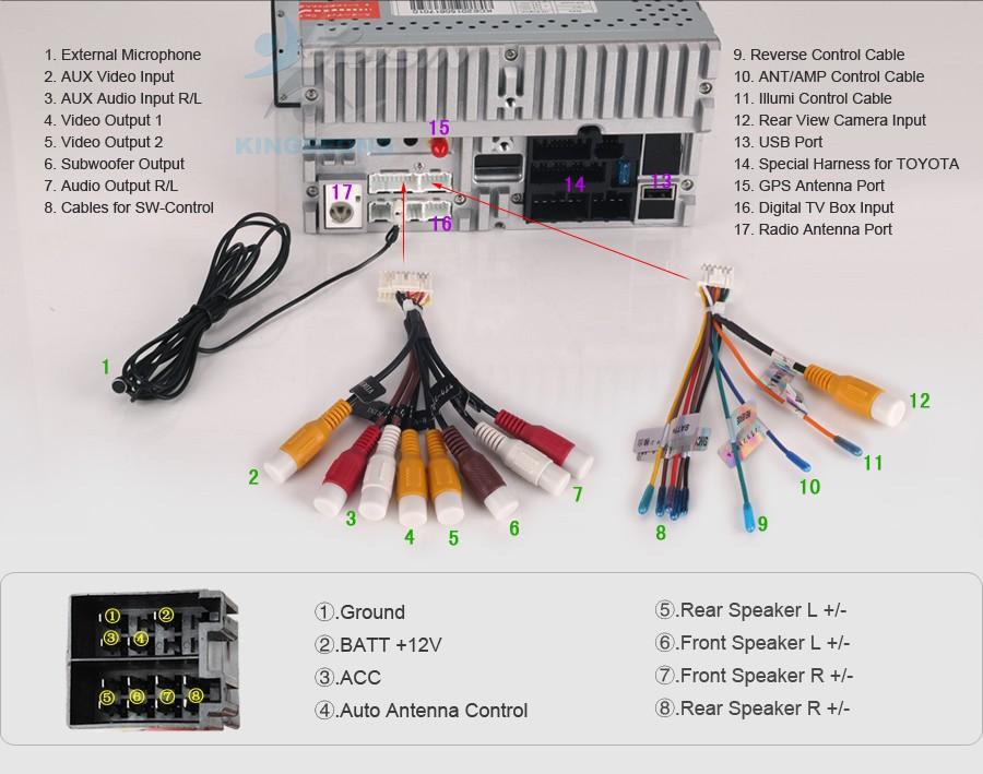 KS6903K K15 Wiring Diagram toyota fortuner car stereo wiring diagram 2006 toyota stereo  at aneh.co