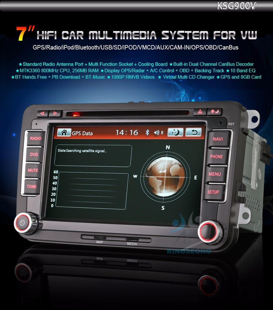car radio dvd gps y autoradio for vw passat cc golf 5 6. Black Bedroom Furniture Sets. Home Design Ideas