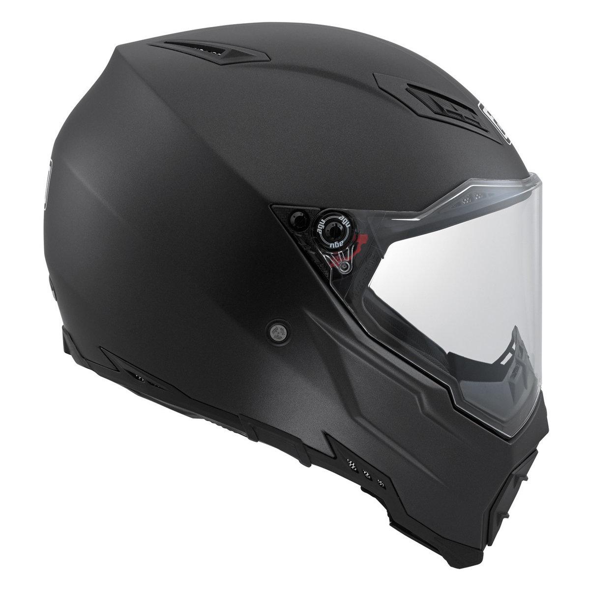 AGV AX-8 Naked EVO Helmet Matte Black - AGV Helmets