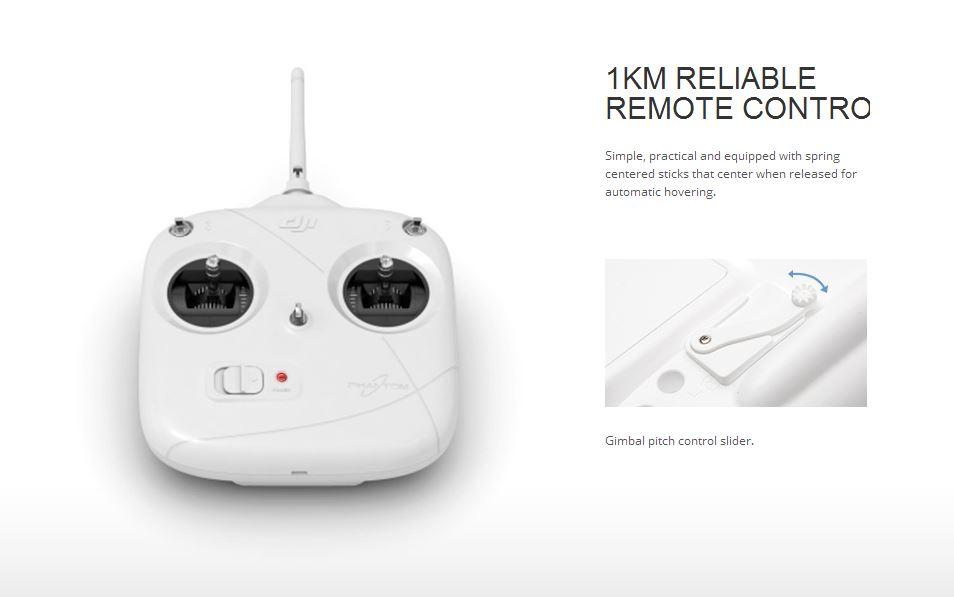Dji Phantom 2 Quadcopter Gps Uav Drone Zenmuse H3 2d