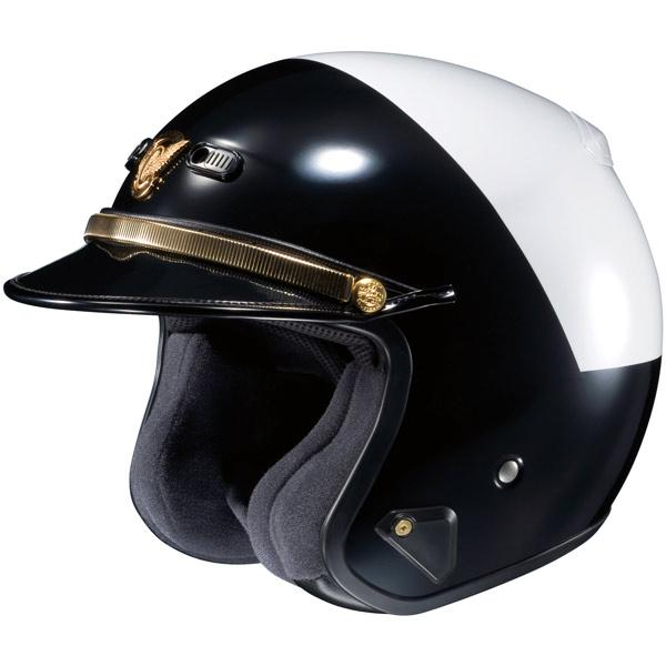 SHOEI RJ PLATINUM R LE POLICE OPEN FACE MOTORCYCLE HELMET  : RJPLATRLEHIRISEBW2 Police <strong>Bike Helmet</strong> from www.ebay.com size 600 x 600 jpeg 29kB