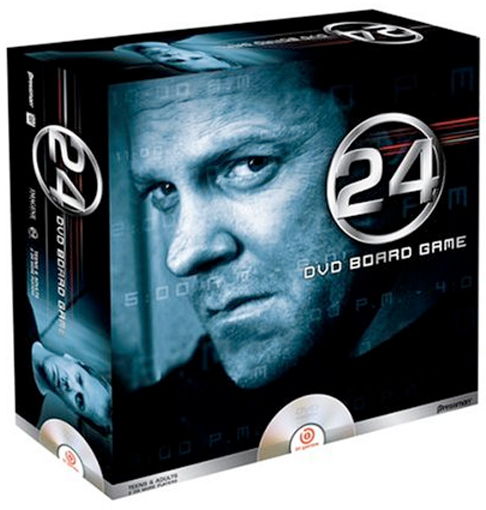 Thumbnail of 24 DVD Board Game