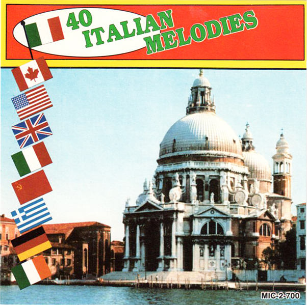 Thumbnail of 40 Italian Melodies