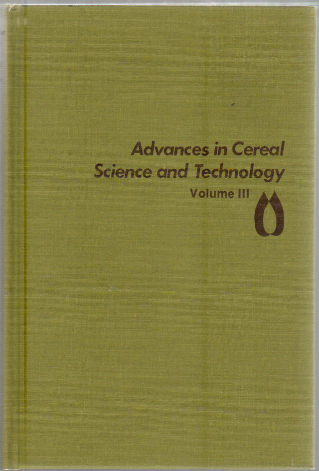 Thumbnail of Advances in Cereal Science and Technology: Volume 3