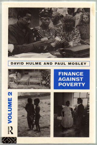 Thumbnail of Finance Against Poverty Volume 2