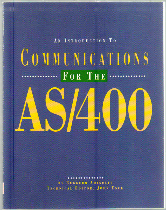 Thumbnail of An Introduction to Communications for the AS/400