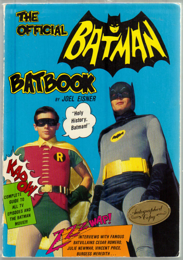 Thumbnail of The Official Batman Batbook