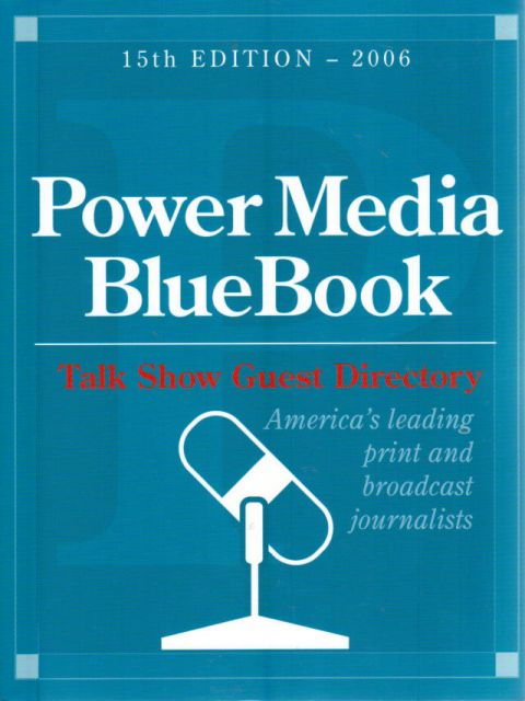 Thumbnail of Power Media Bluebook with Talk Show Guest Directory 2006