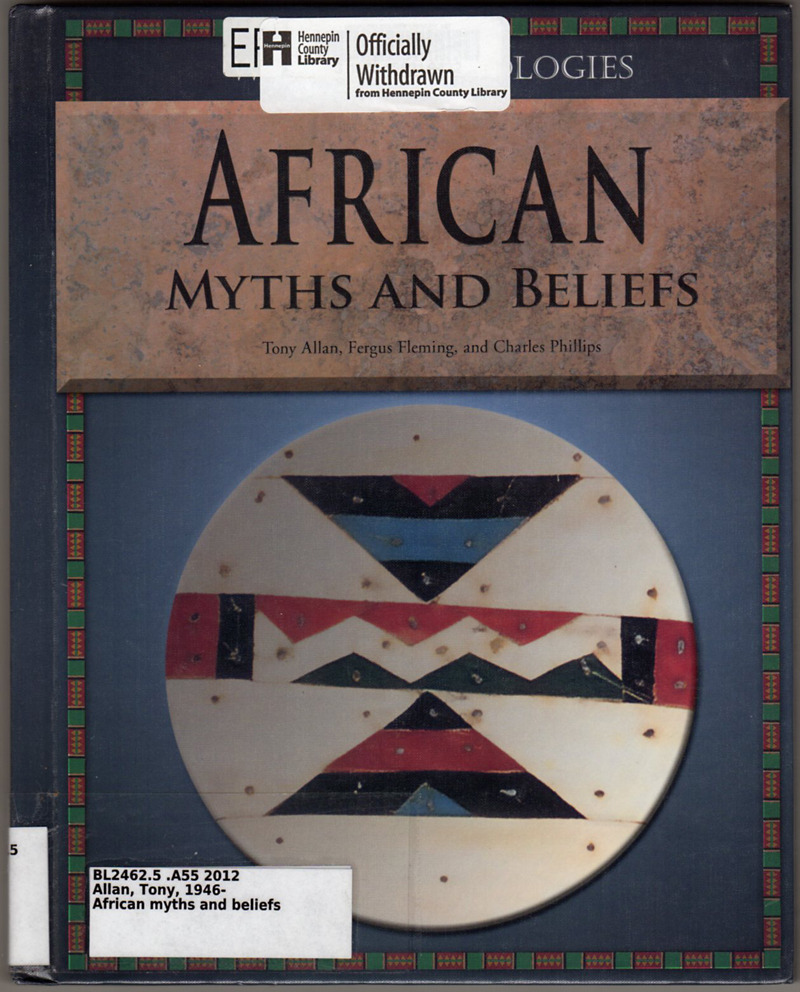 african creation myths essay A creation myth (or creation story) is a cultural, traditional or religious myth which describes the earliest beginnings of the present world creation myths are the most common form of myth, usually developing first in oral traditions , and are found throughout human culture.