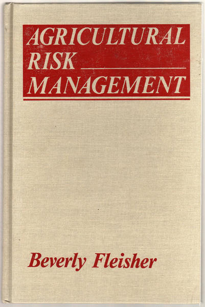 Thumbnail of Agricultural Risk Management