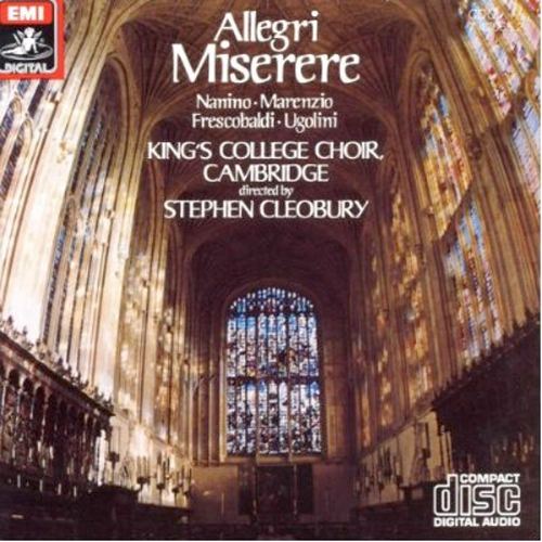 Thumbnail of Allegri: Miserere