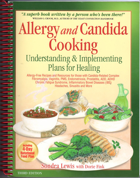 Thumbnail of Allergy and Candida Cooking: Understanding & Implementing Plans for Healing