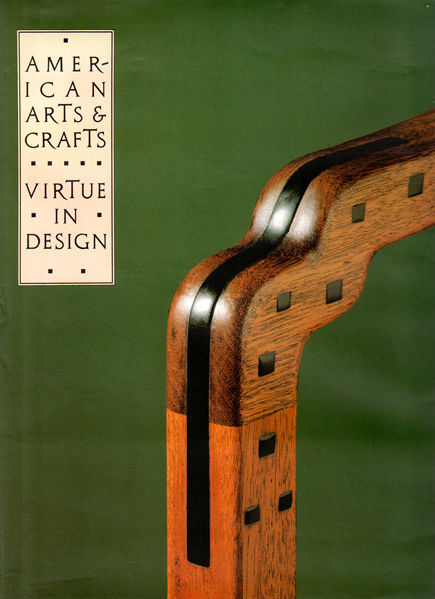 Thumbnail of American Arts and Crafts: Virtue in Design (A Catalogue of the Palevsky/Evans Co