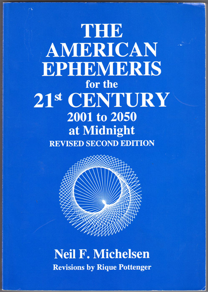 Thumbnail of American Ephemeris for the Twenty-First Century: 2001-2050
