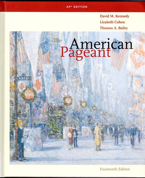 the american pagent questions Review videos for the american pageant textbook these videos were made using the 13th edition, although other editions will match up as well.