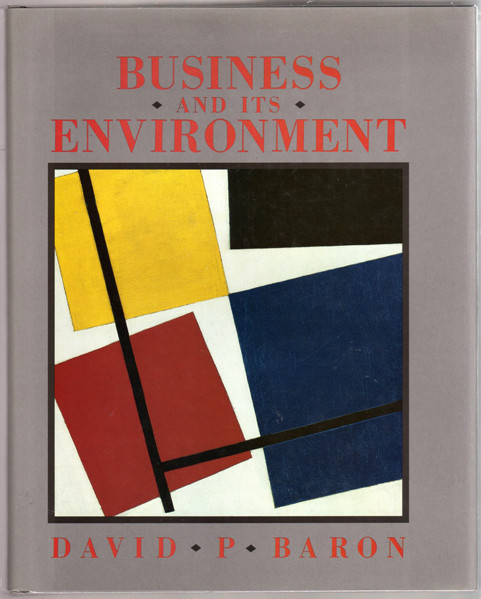 Thumbnail of Business and its Environment