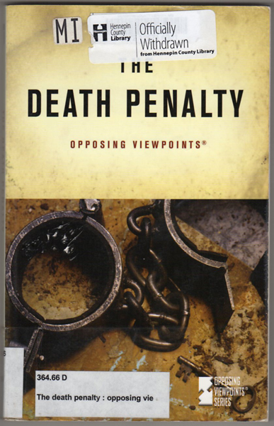 oppose the death penalty essay Argumentative essay about death penalty there are many people who oppose the death penalty and then there are many people who support the death penalty.