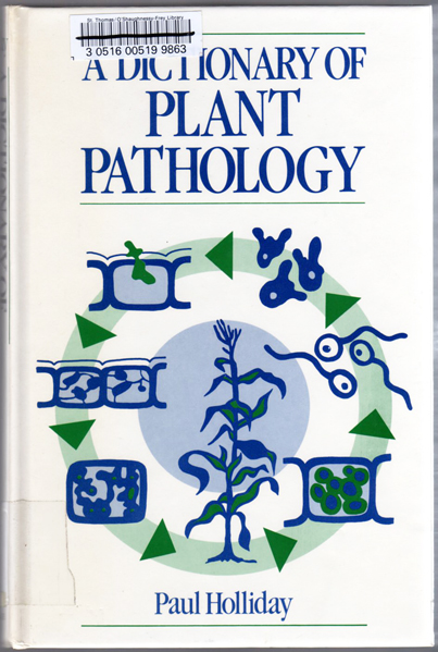 Thumbnail of A Dictionary of Plant Pathology