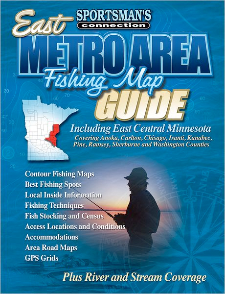 Thumbnail of East Metro-Central Area (Fishing Maps from Sportsman's Connection)
