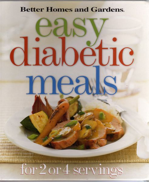 Thumbnail of Easy Diabetic Meals: For 2 or 4 Servings (Better Homes & Gardens)