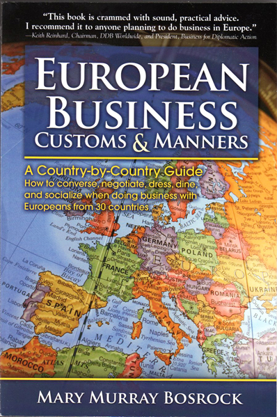 Thumbnail of European Business Customs & Manners: A Country-By-Country Guide