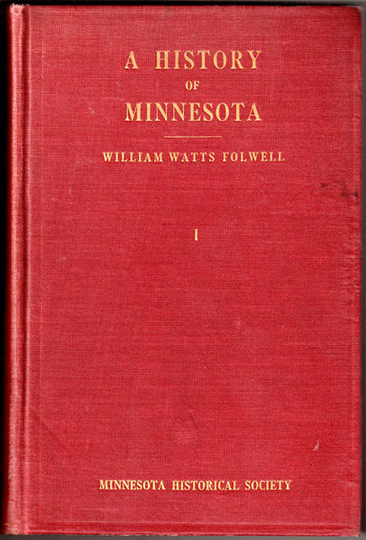 Thumbnail of A History of Minnesota Volume I [one] only