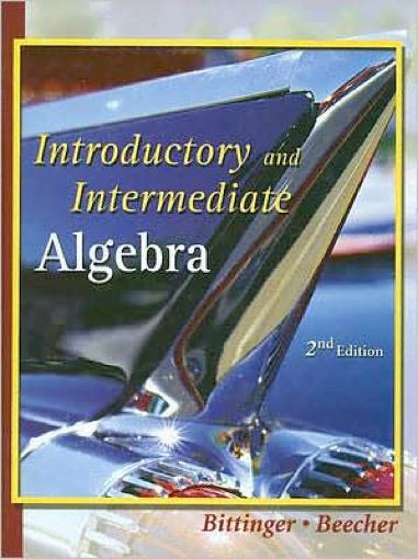Thumbnail of Introductory and Intermediate Algebra